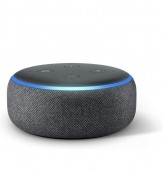 Bocina inteligente que se controla con la voz y que usa Alexa. Para más promociones visita Promodromo.