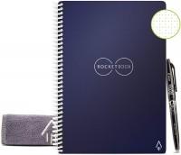 Cuaderno borrable, reutilizable con espiral, Azul Midnight, Executive. Para más promociones visita Promodromo