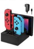 Joy-Con Base de carga 5 in 1 para Nintendo Switch y Lite. Para más descuentos y promociones visita Promodromo.