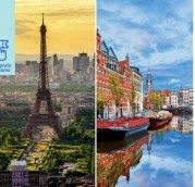 Francia + Ámsterdam vuelo redondo. Para más descuentos y promociones visita Promodromo