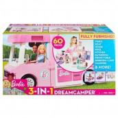 Juego Barbie Estate Cámper de 3 En 1 en oferta. Para más descuentos y promociones visita Promodromo
