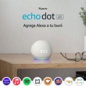 Echo Dot (4ta Gen) - con reloj y Alexa en oferta. Para más descuentos y promociones visita Promodromo
