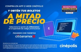 Boletos a mitad de precio en Cinepolis en oferta. Para más descuentos y promociones entra a Promodromo