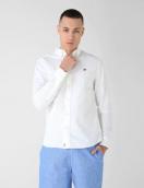 Camisa blanca para hombre Banana Republic en oferta. Para más descuentos y promociones, visita PromoDromo