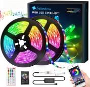 10 M de tira LED Bluetooth multicolor en oferta. Para más descuentos y promociones, visita PromoDromo